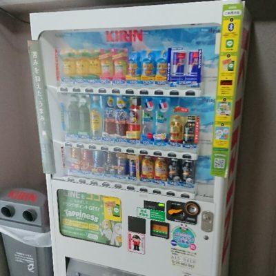 スカーレット江坂 自動販売機