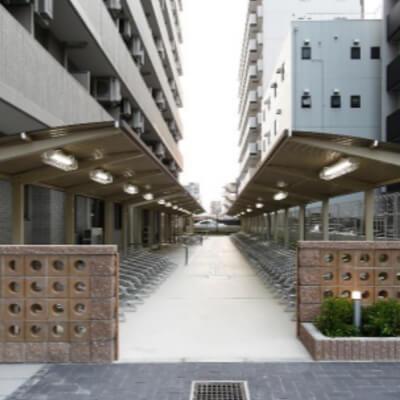 ディームス江坂(駐輪場)