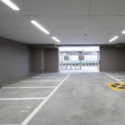 ディームス江坂(バイク置場)