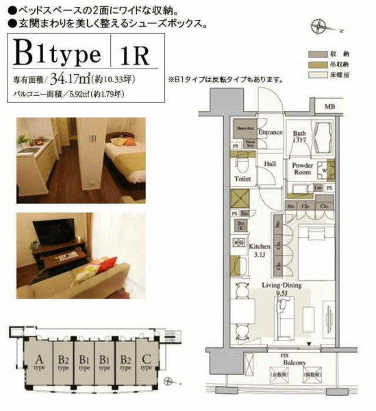 B1-パークアクシス梅田