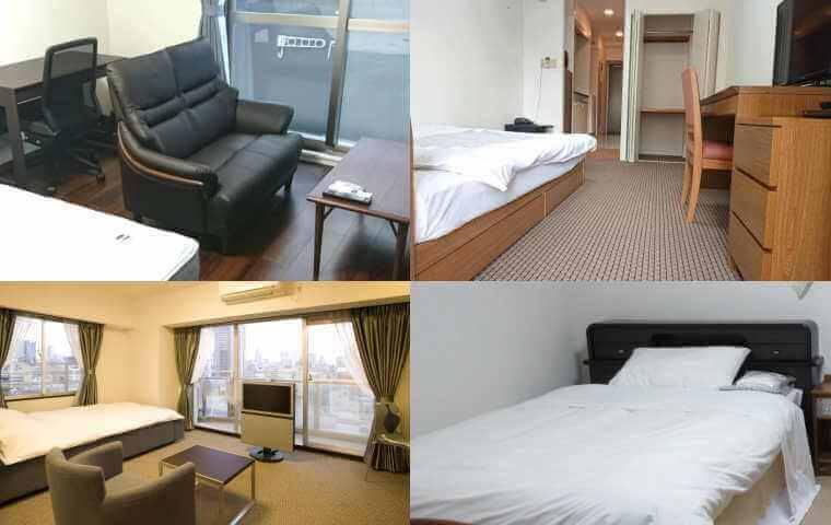 大阪 賃貸の家具付きマンション